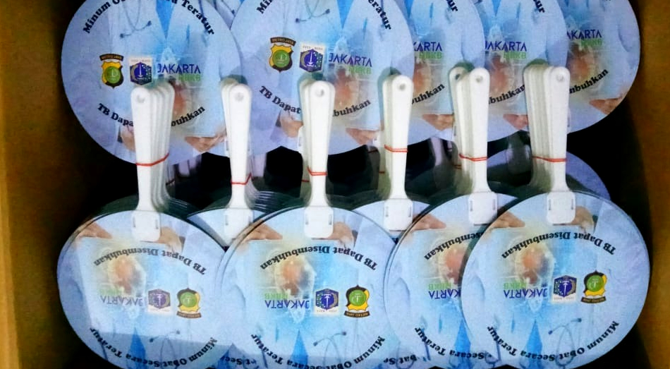 Cetak Kipas Promosi Art Carton Indonesia Bebas TBC